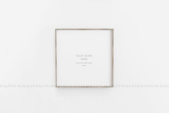 Mockup Frame Customizable 1x1 Ratio in Graphics - product preview 7