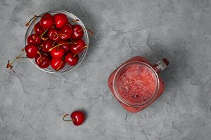 cherry smoothies