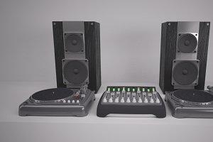 DJ Decks & Speakers