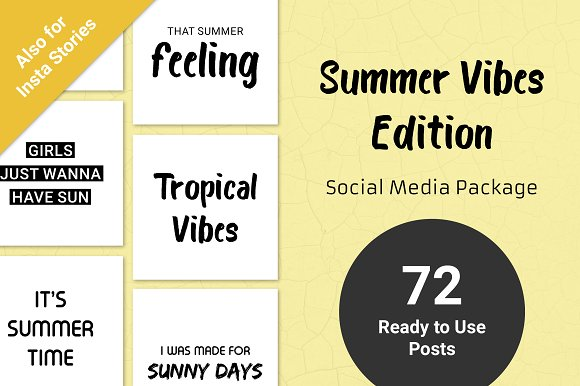 Summer Vibes Edition Social Media