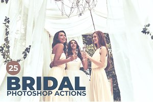 25 Bridal Photoshop Actions