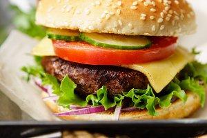 Classical burger