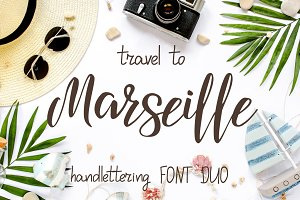 Travel to Marseille - Font DUO