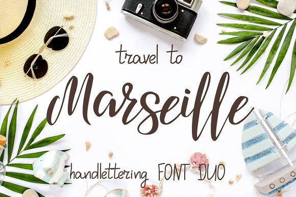 Travel To Marseille Font DUO