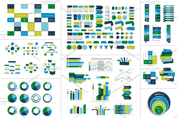 Mega Set Of Infographic Element