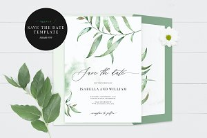 Wedding Save the Date, Aurora