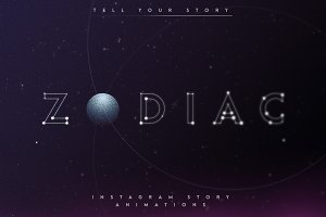 Zodiac - Animated Instagram Pack