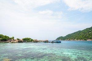 Pier at Koh Nang Yuan Island