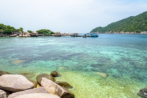 Sea at Koh Nang Yuan Island
