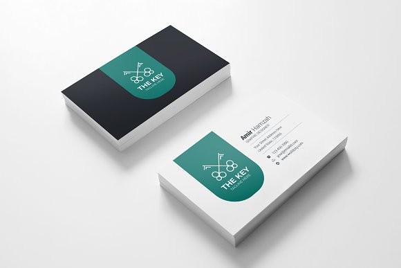 The Key Business Card