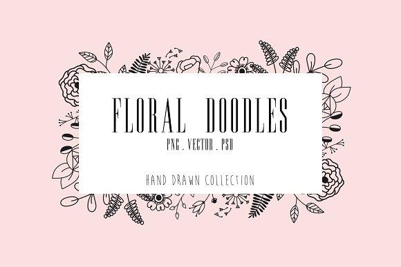 50 Floral Doodles