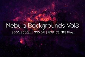 Nebula Backgrounds Vol3