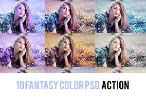 Fantasy Color Grading Action