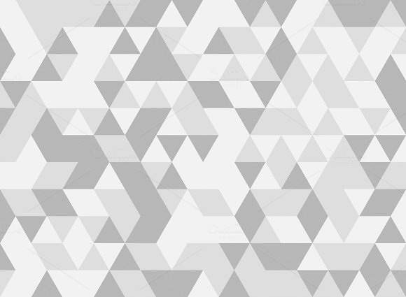White And Grey Triangle Tiles Texture Seamless Pattern Background Illustration