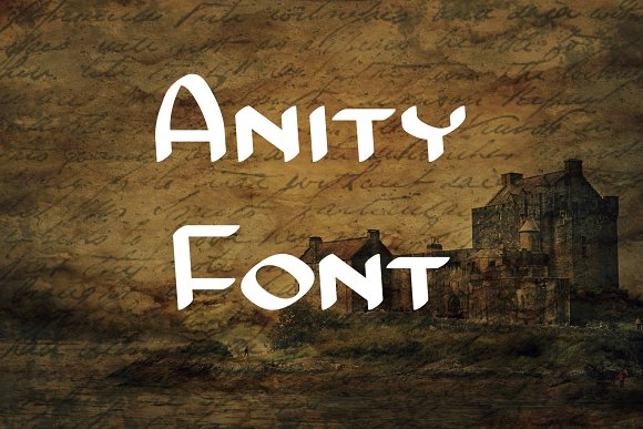 Anity Font