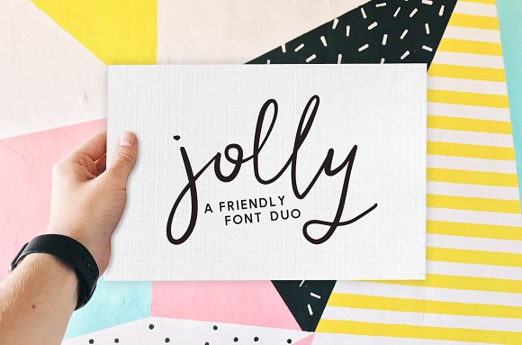 Jolly A Friendly Font Duo