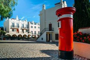 UK red letter pillbox