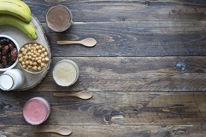Vegan smoothie (chickpeas)