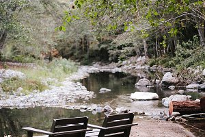 Big Sur Outdoor Camping Scene Chairs
