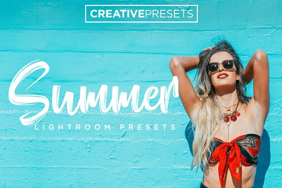 Summer Lightroom Presets