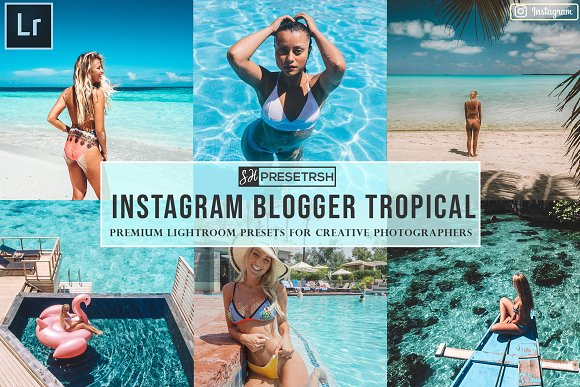 Blogger Instagram Lightroom Presets
