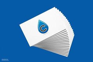 Cleandrop C Letter Logo