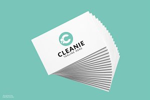Cleanie C Letter Logo