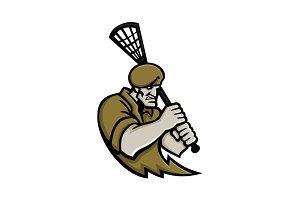 Commando Lacrosse Mascot