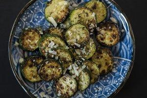 fresh sautéed zucchini