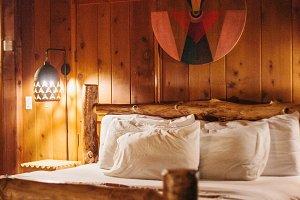 Ojai California Cabin Room