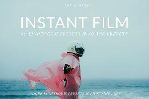 INSTANT FILM PRESETS LR//PS