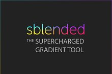 Sblended: Supercharged Gradient Tool by Grixel in Add-Ons