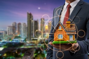 businessmen using Home investment Co