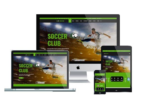 LT Soccer Joomla Soccer Theme