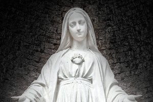 Statue of Our Lady of Medjugorje