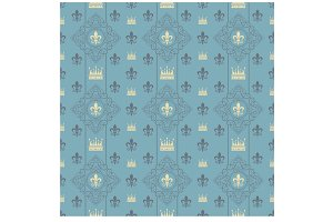 Vintage Royal Wallpaper