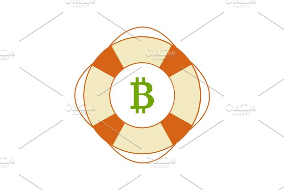Bitcoin In Safety Ring