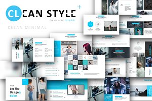 Discount, Clean Style Powerpoint