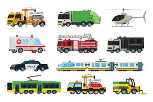 Municipal Transport Set