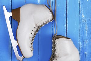 leather female skates