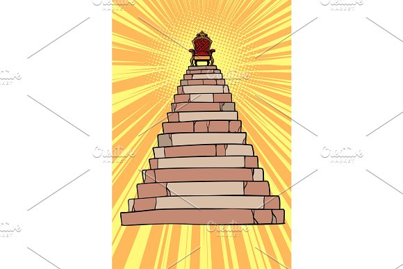 Throne On Top Of The Pyramid