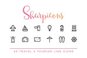 Travel & Tourism Line Icons