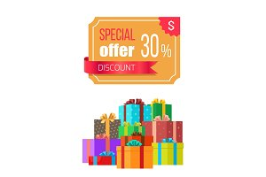 Special Offer 30 Off Discount Emblem Gift Box
