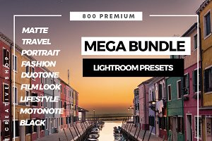 Mega Bundle Lightroom Presets