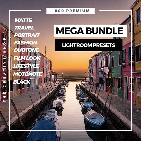 Mega Bundle Lightroom Presets