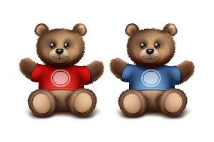 Gift bears for fans