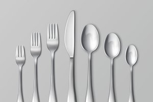 Set of silverware