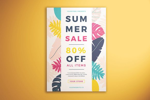 Summer Sale Flyer Vol 01