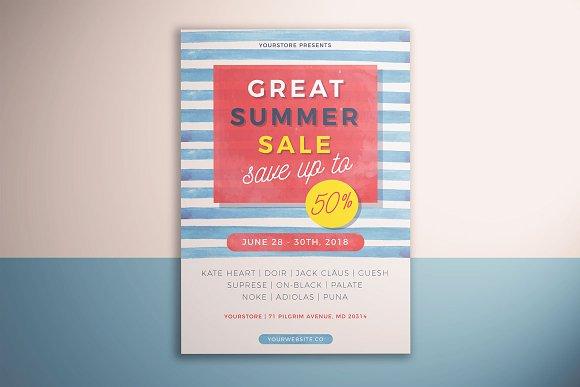 Summer Sale Flyer Vol 02