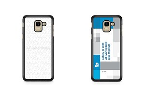 Samsung Galaxy J6 2d PC Colored Case